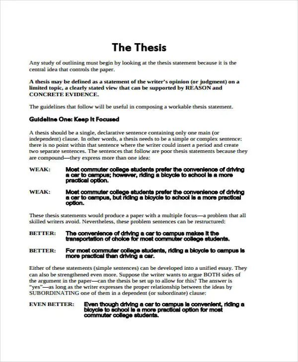 research paper outline templates