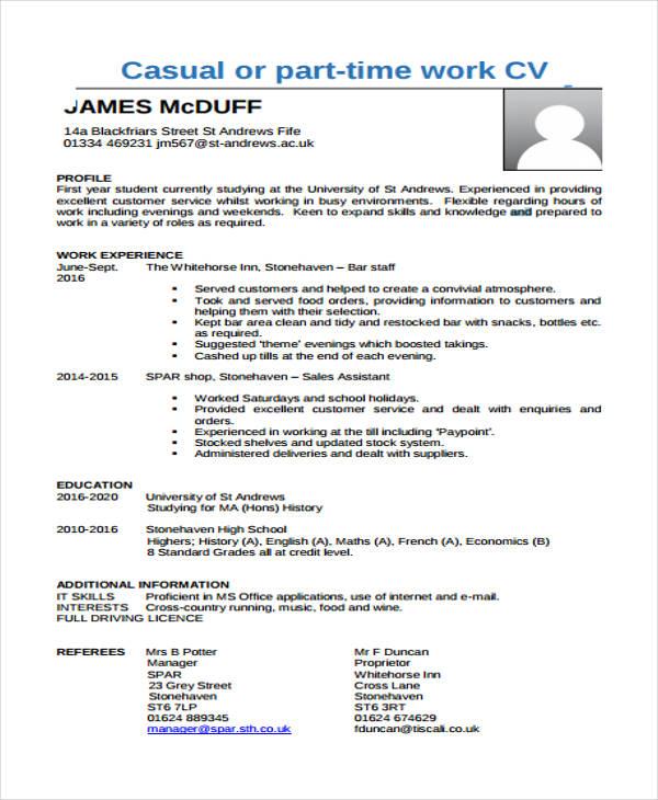 17+ Free Work Resume Templates - PDF, DOC Free  Premium Templates