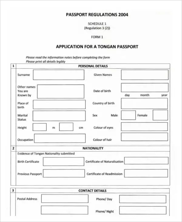 35+ Application Form Samples Free  Premium Templates