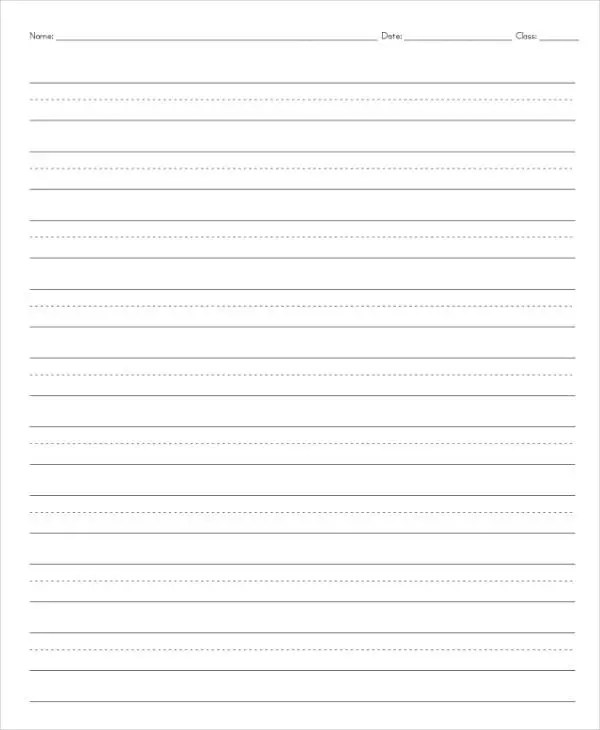 13+ Lined Paper Templates in PDF Free  Premium Templates
