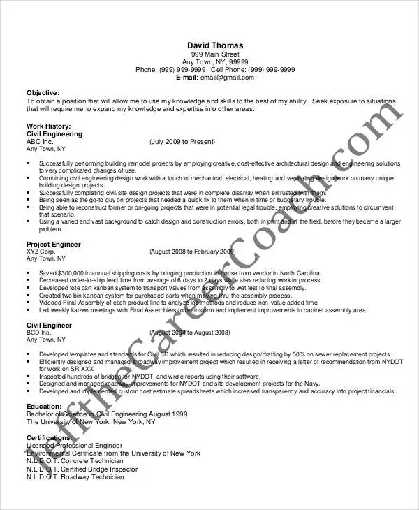 36+ Resume Format - Free Word, PDF Documents Download Free