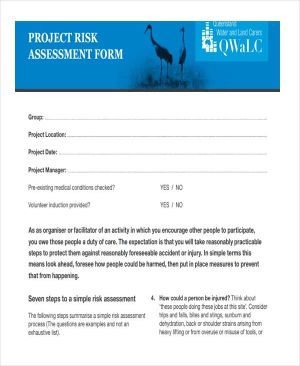 37+ Risk Assessment Templates Free  Premium Templates