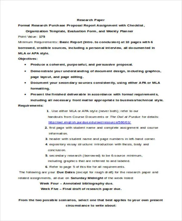 Purchase Proposal Templates - 14+ Free Word, PDF Format Download - purchase proposal template