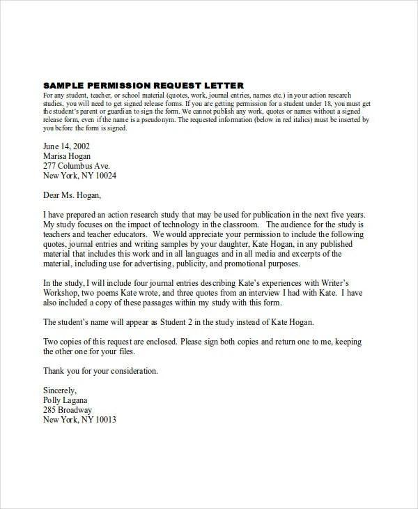 79+ Request Letter Samples Free  Premium Templates