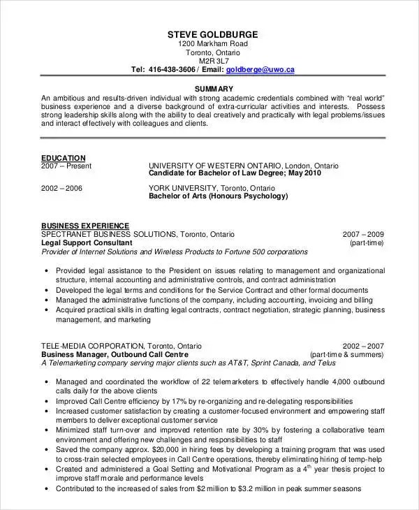 36+ Resume Format - Free Word, PDF Documents Download Free - business format resume