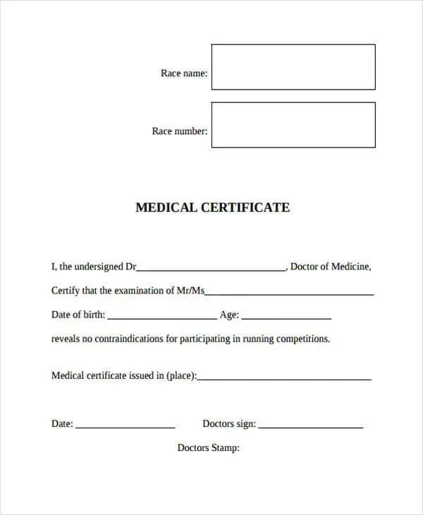 28+ Medical Certificate Templates in PDF Free  Premium Templates - medical certificate from doctor