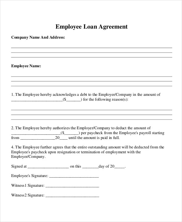 Draft Loan Agreement Template 897 best download real estate – Basic Loan Agreement