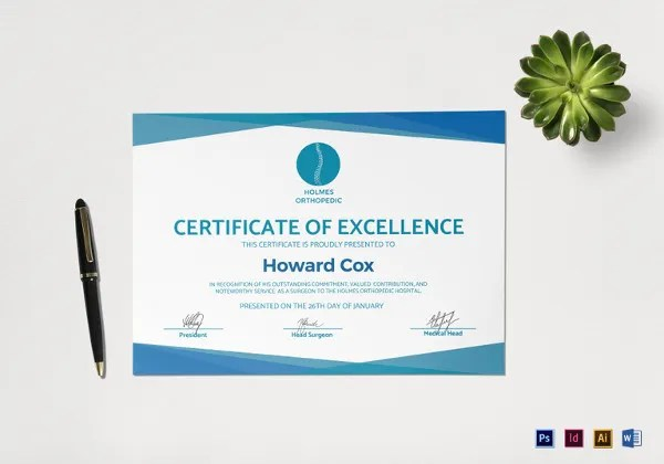 23+ Medical Certificate Samples Free  Premium Templates - certificate samples