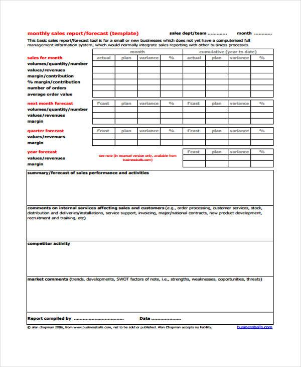 32+ Monthly Report Templates in PDF Free  Premium Templates - business monthly report
