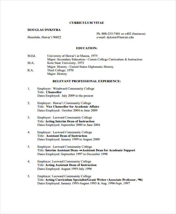 20+ Modern Business Resume Templates - PDF, DOC Free  Premium - sample resume business owner