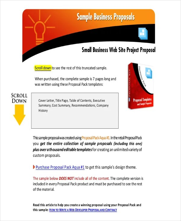 36+ Project Proposal in PDF Free  Premium Templates - project proposals