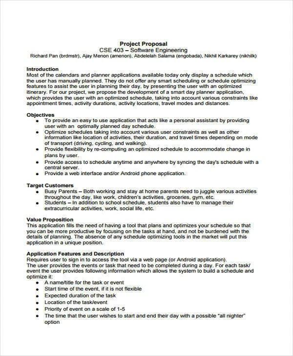 Engineering Proposal Templates - 10+ Free Word, PDF Format Download