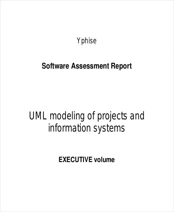 16+ Project Report Templates Free \ Premium Templates - assessment report format