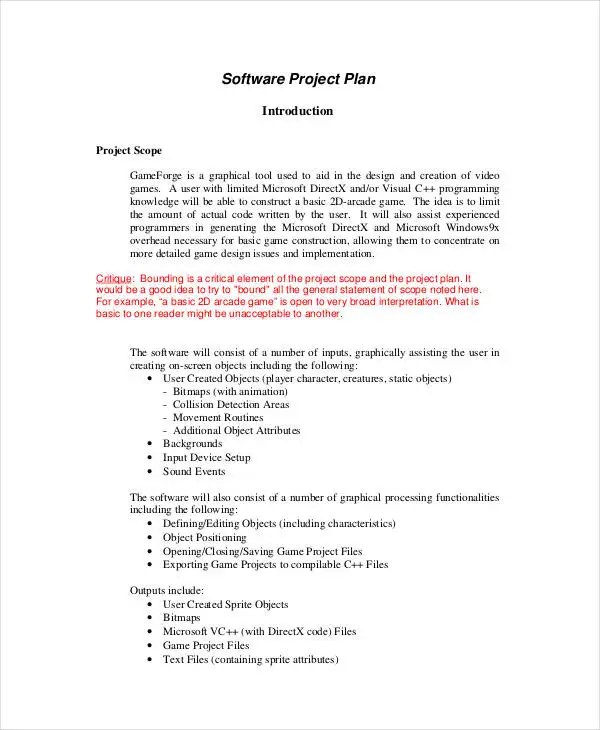 10+ Simple Project Plan Templates -Free Sample, Example Format