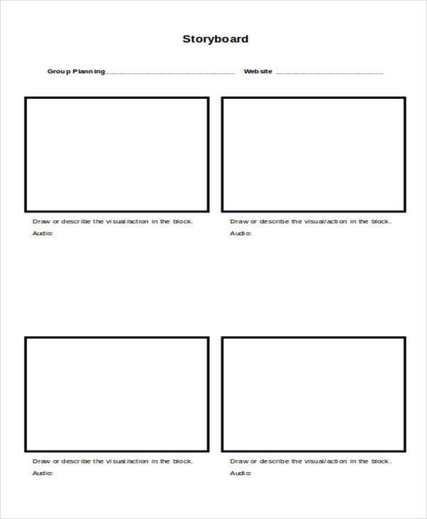 4+ Website Storyboard Samples - Free Samples, Examples Format