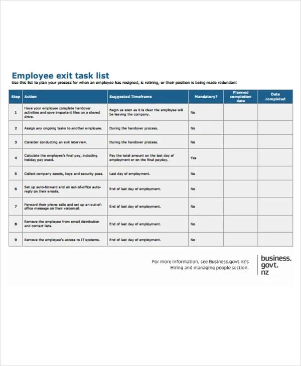 20+ Free Task List Templates Free  Premium Templates