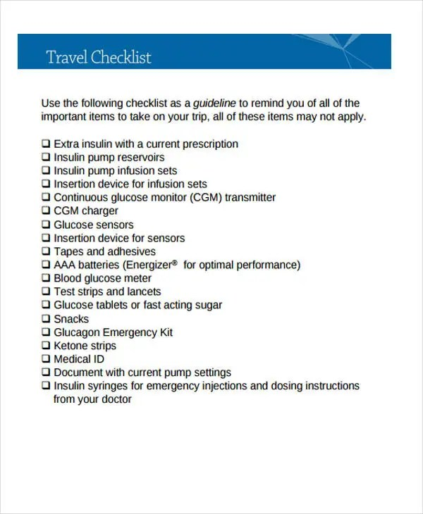 Sample Vacation Checklist Short Term Vacation Rental Checklist