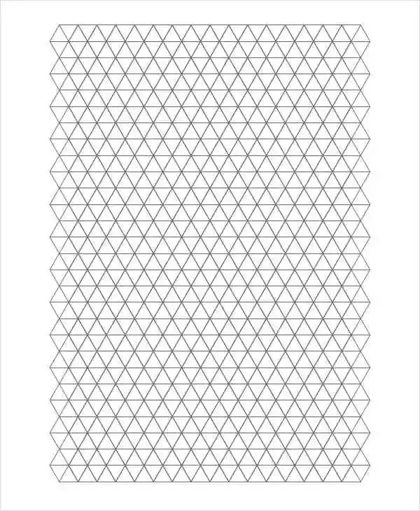 Awesome Triangular Graph Paper Photos  Best Resume Examples By