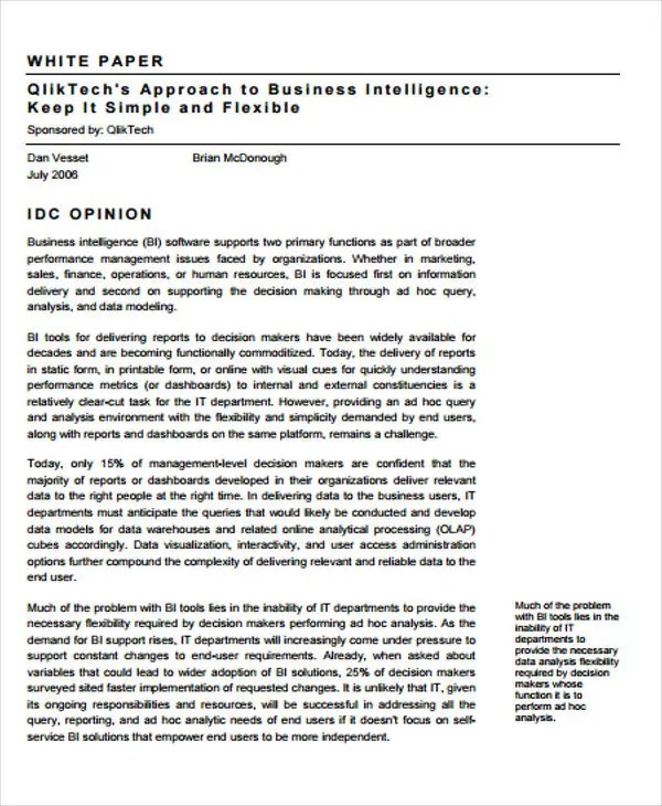 business white paper - Goalgoodwinmetals