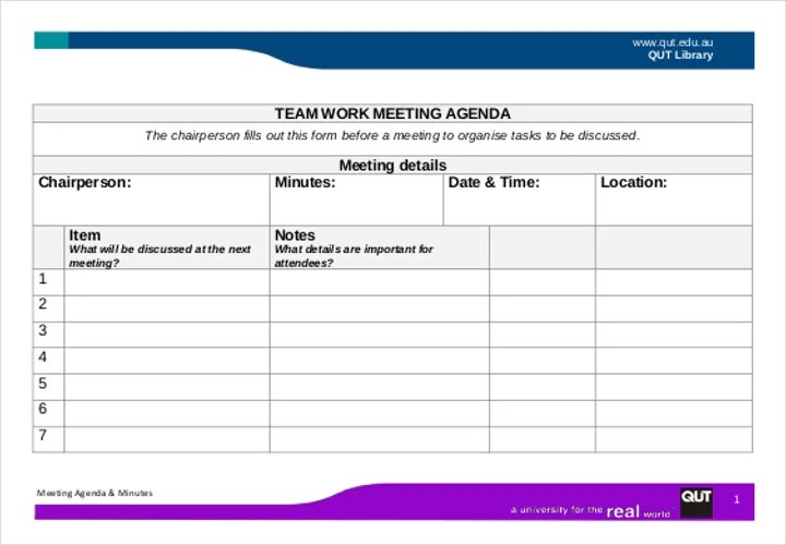 A Complete Guide To Making An Agenda Free  Premium Templates - outlook meeting agenda template