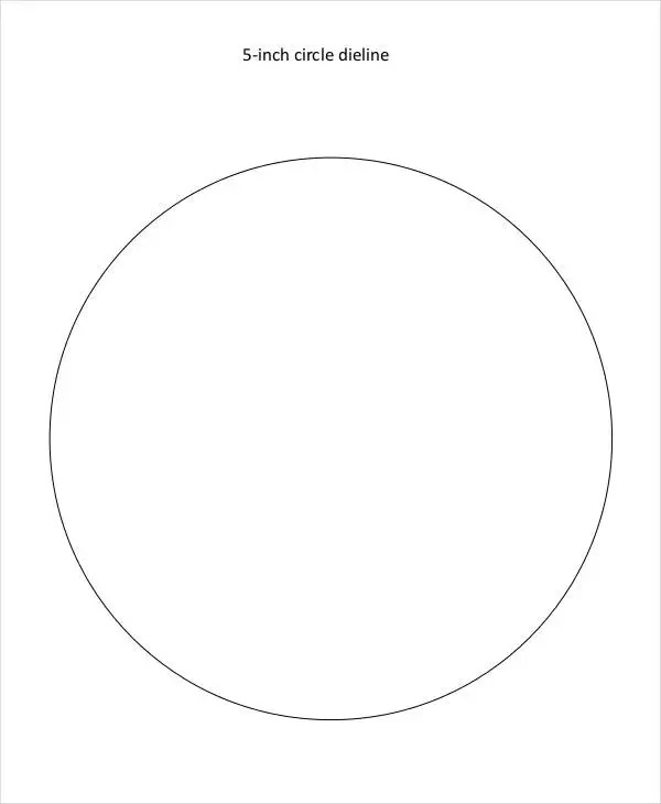 11+ Circle Template Free  Premium Templates - circle template