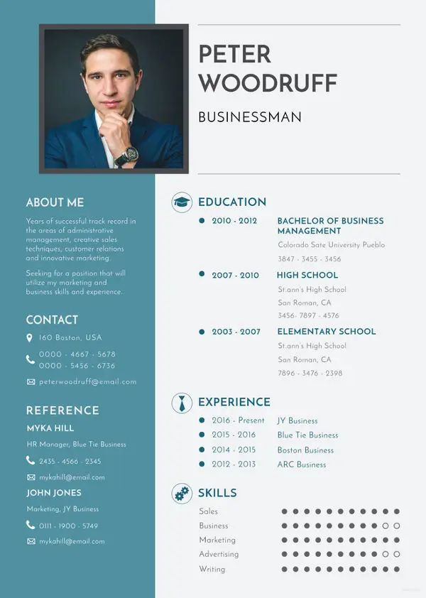 resume excel skills sample