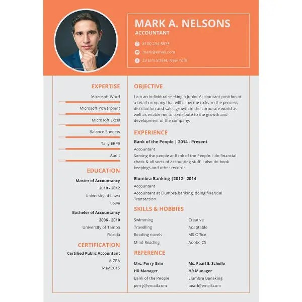 26+ Best Resume Formats - DOC, PDF, PSD Free  Premium Templates - which resume format is best