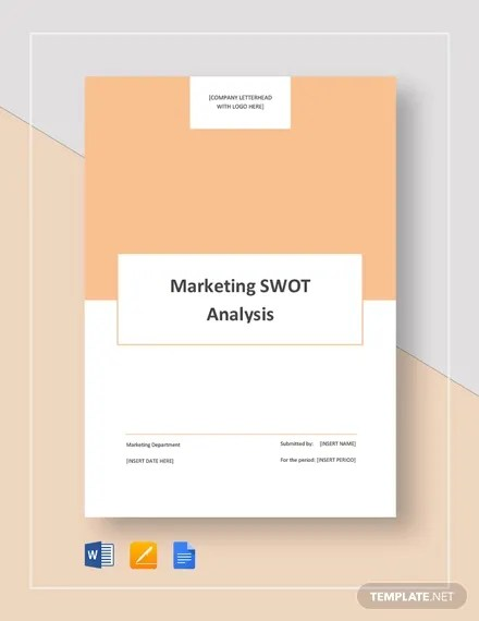 18+ Swot Analysis Templates - Word, Doc, PPt, Excel Free  Premium