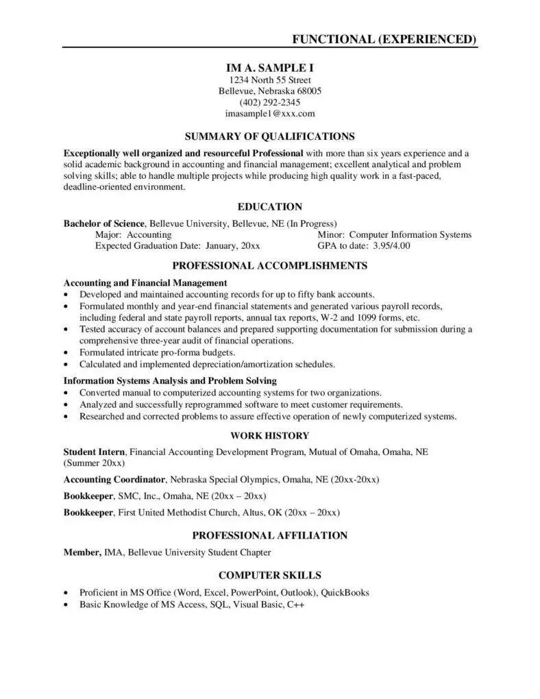 two page resume examples