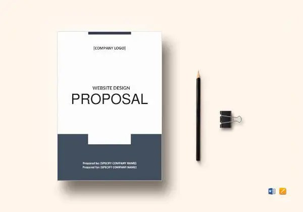 8+ Website Design Proposal Templates - Word, PDF, Pages Free