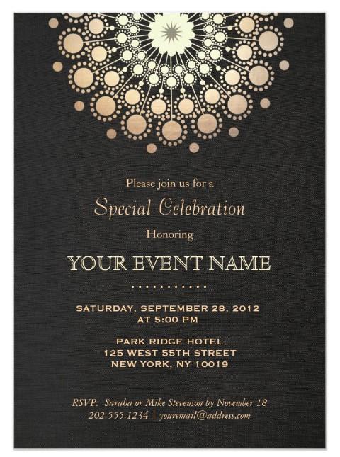 event invite template