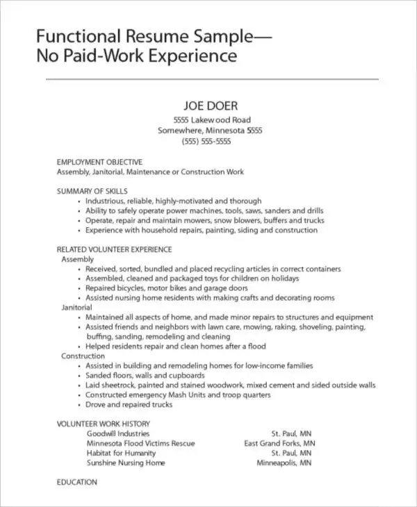 Fine Home Repairs Resume Pictures - Professional Resume Examples