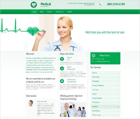 30+ Medical Website Themes  Templates Free  Premium Templates