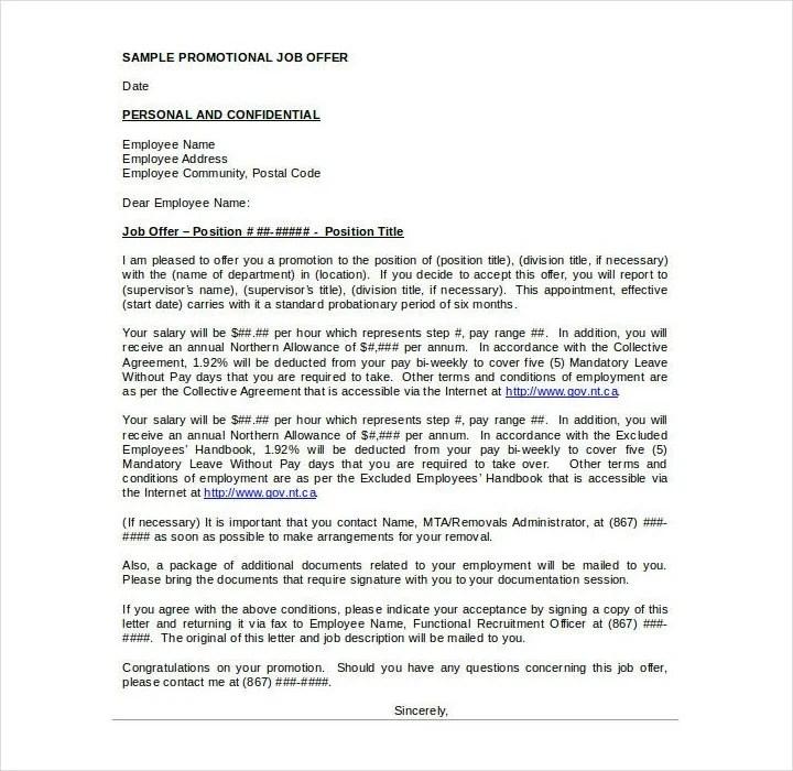 29+ Promotion Letter Templates - PDF, DOC Free  Premium Templates - promotion announcement samples