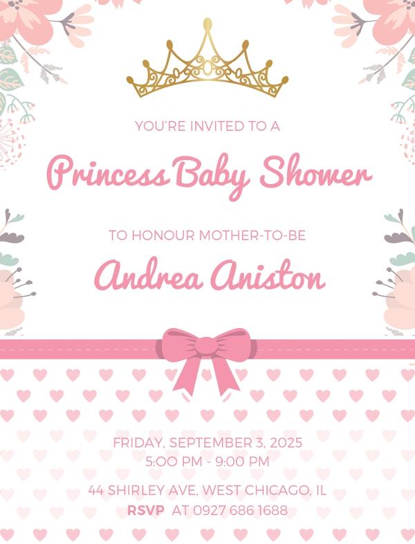 22+ Best Baby Shower Invitation Templates - Editable PSD, AI Format