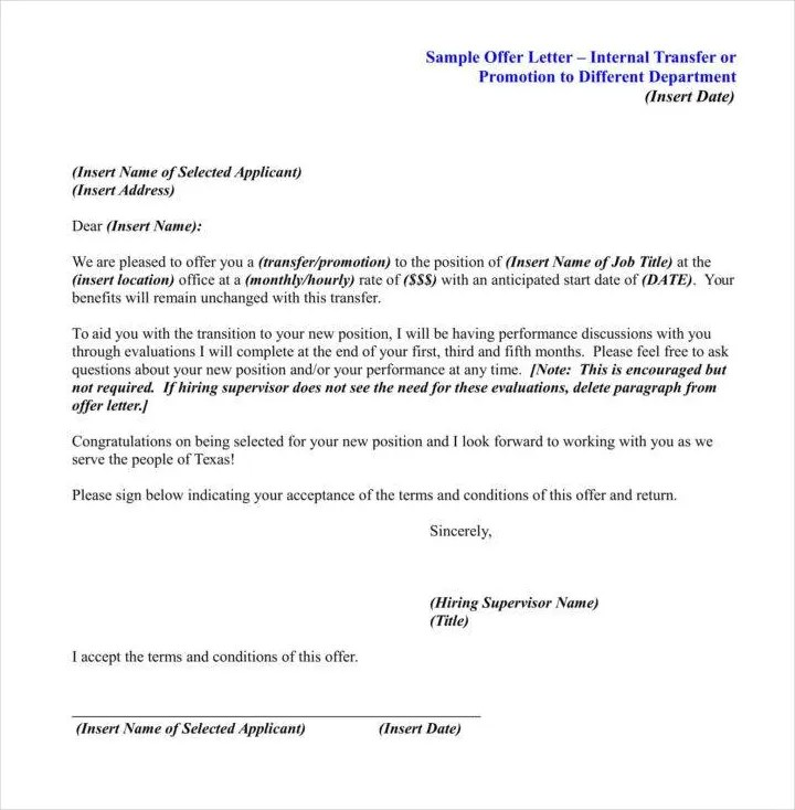 27+ Promotion Letter Templates in PDF Free  Premium Templates - request for promotion consideration