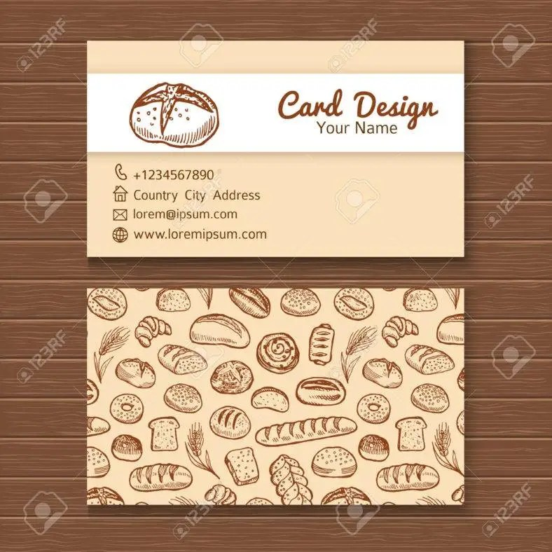 27+ Creative Restaurant Business Card Templates - AI, Apple Pages