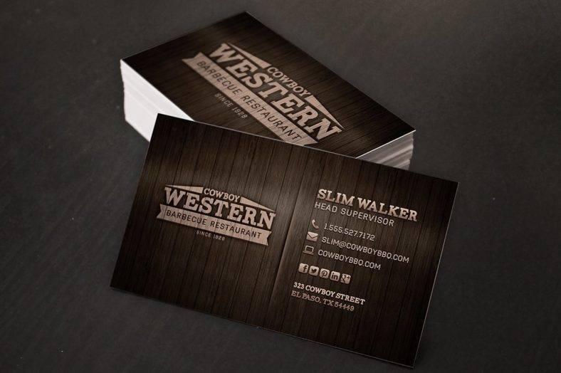 16+ Restaurant Business Card Templates - Editable PSD, AI Format