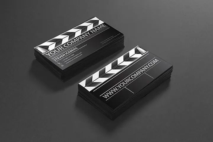 videography business card
