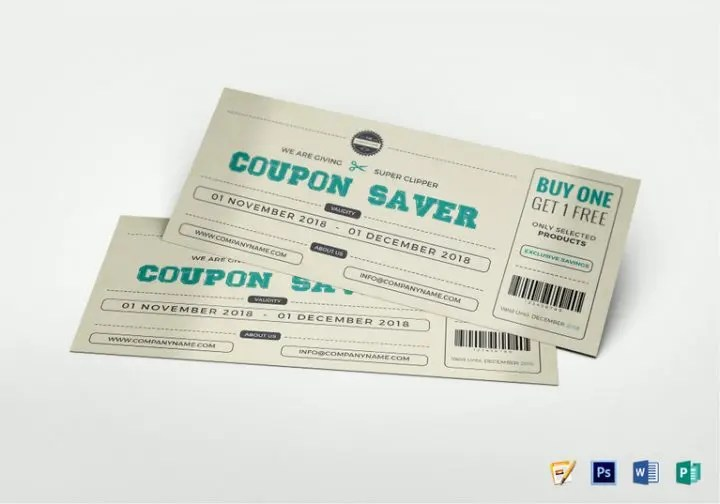 14+ Best Restaurant Breakfast Coupon Templates - Editable PSD, AI - coupon layouts