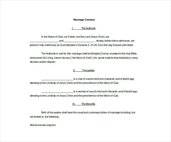 13+ Wedding Contract Templates - Free PDF, DOC Format Download - wedding contract template