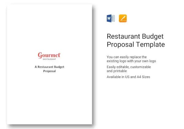 13+ Budget Proposals for a Restaurant, Cafe, Bakery - Free PDF, DOC