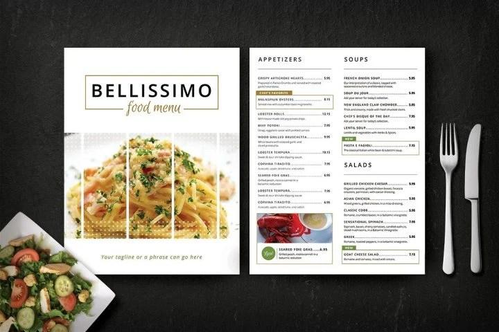 14+ Elegant Fine Dining Restaurant Menu Designs - Editable PSD, AI