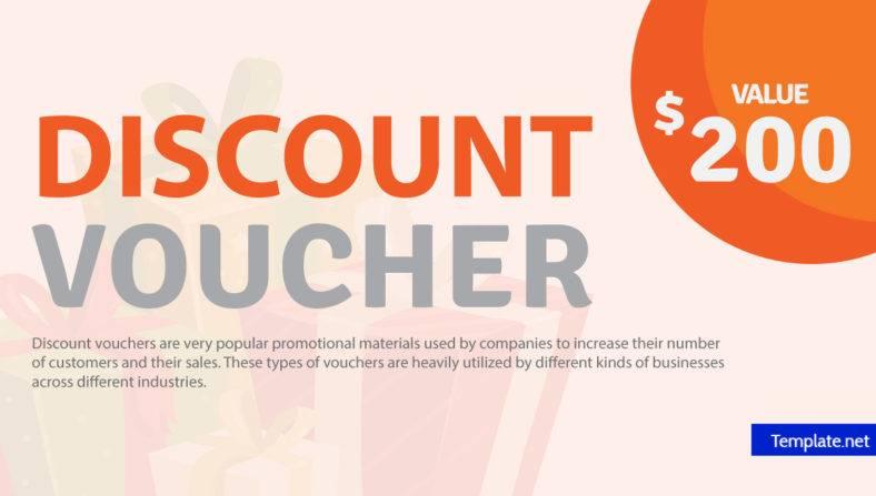 14+ Discount Voucher Designs  Templates - PSD, AI, Word, PDF