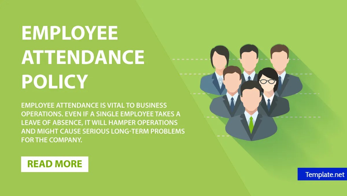 Employee Attendance 5 Employee Attendance Policy Templates Free Premium Templates