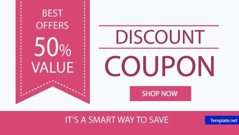 15+ Discount Coupon Designs  Templates - PSD, AI Free  Premium