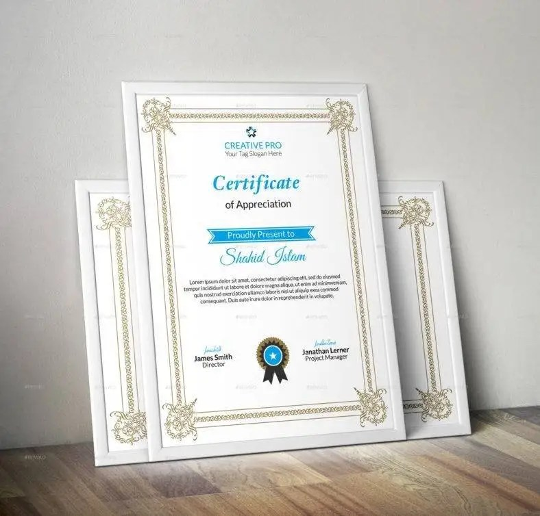 10+ Employee Excellence Certificate Designs and Templates- PSD, AI - corporate certificate template