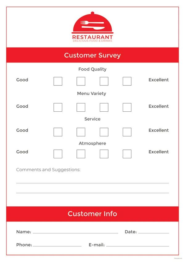 restaurant review examples