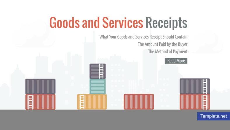 5+ Goods and Services Receipt - PDF, DOC Free  Premium Templates