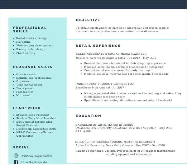7+ Social Media Resume Templates - PDF, DOC Free  Premium Templates - Social Media Manager Resume